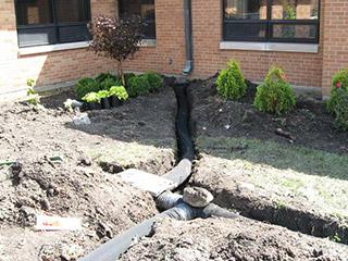 Backyard Drainage Systems drainage systems | milan, ann arbor, canton, tecumseh, mi